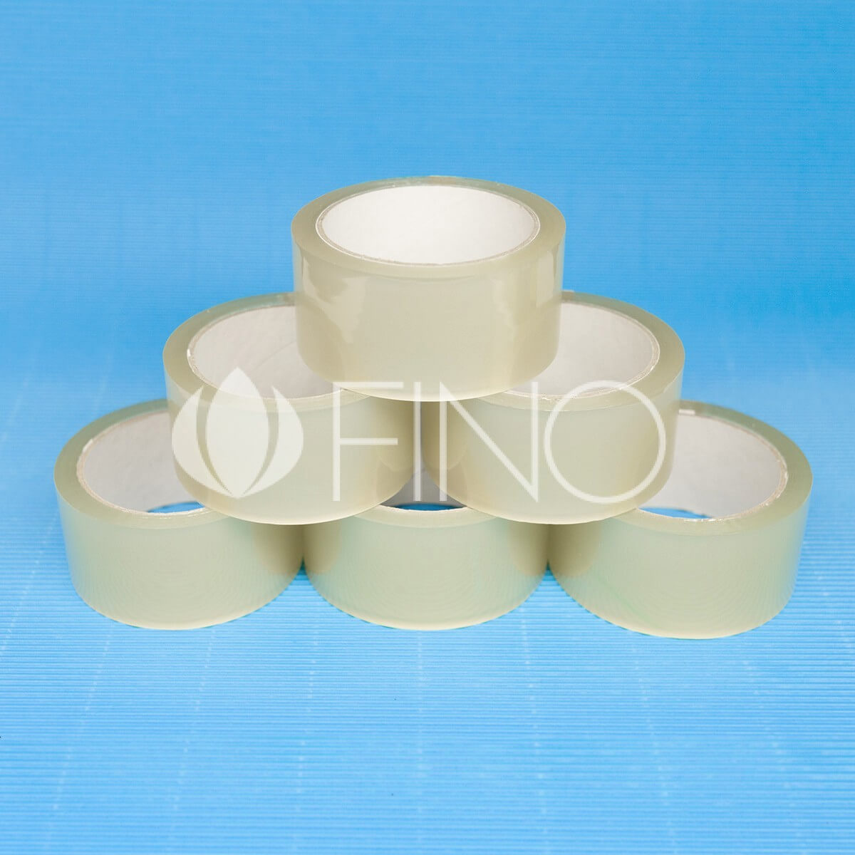 Packaging tapes on solvent adhesive