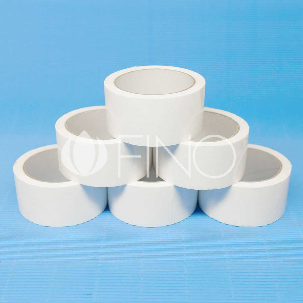 Packaging tapes on hot-melt adhesive