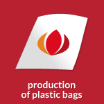 icon production of plastic bags