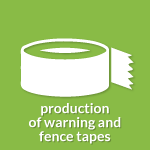 icon production of warning tapes